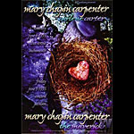 Mary Chapin Carpenter Bill Graham Presents Poster BGP117