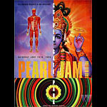 Pearl Jam Bill Graham Presents BGP120 Poster
