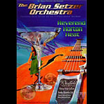 Brian Setzer Orchestra Bill Graham Presents Poster BGP135