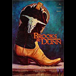 Brooks & Dunn Bill Graham Presents BGP157 Poster