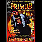 Primus Bill Graham Presents BGP186 Poster