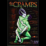 The Cramps Bill Graham Presents Poster BGP203