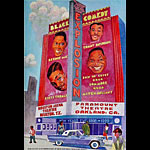 Black Comedy Explosion Bill Graham Presents BGP207 Poster