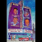 Black Comedy Explosion Bill Graham Presents Poster BGP208