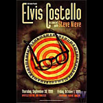 Elvis Costello Bill Graham Presents BGP219 Poster