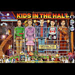 Kids In The Hall Tour Poster Bill Graham Presents Poster BGP234