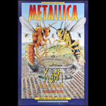 Metallica Bill Graham Presents Poster BGP242