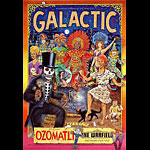 Galactic Bill Graham Presents Poster BGP252