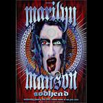 Marilyn Manson Bill Graham Presents BGP253 Poster