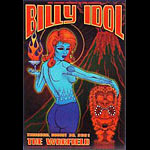 Billy Idol Bill Graham Presents BGP266 Poster