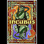 Incubus Bill Graham Presents BGP273 Poster