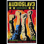 Audioslave Bill Graham Presents BGP298 Poster
