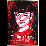 The White Stripes Bill Graham Presents BGP301 Poster