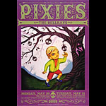Pixies Bill Graham Presents Poster BGP331