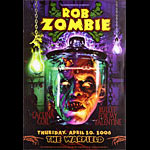 Rob Zombie Bill Graham Presents Poster BGP338