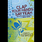 Clap Your Hands Say Yeah Bill Graham Presents BGP346 Poster