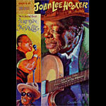 John Lee Hooker Bill Graham Special Events Poster BGSE18