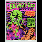 Ward Sutton Big Head Todd and the Monsters Poster