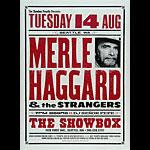 Joe Newton Merle Haggard Poster