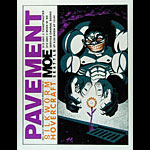 Justin Hampton Pavement Poster