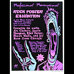 Justin Hampton Rock Poster Exhibition Poster