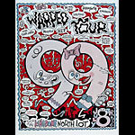 Pat Moriarity Warped Tour 1999 Eminem Poster