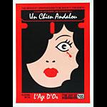 Scrojo Luis Bunuel Salvador Dali Un Chien Andalou Movie Poster