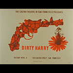 Dirty Harry Clint Eastwood Movie Poster