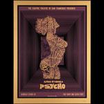 David O'Daniel - Alien Corset Alfred Hitchcock Psycho Movie Poster