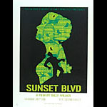 Alien Corset Sunset Boulevard Movie Poster