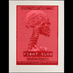 David Fincher Brad Pitt Fight Club Movie Poster