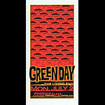 Glenn Barr Green Day Poster