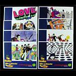 Beatles Yellow Submarine Lobby Cards