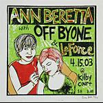 Leia Bell Ann Beretta Poster