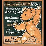 Leia Bell American Analog Set Poster