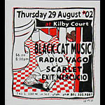 Leia Bell Black Cat Music Poster