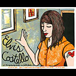 Leia Bell Elvis Costello Poster
