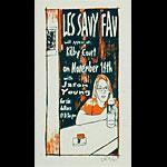 Leia Bell Les Savy Fav Poster