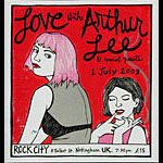 Leia Bell Love With Arthur Lee Poster