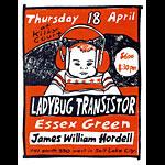 Leia Bell Ladybug Transistor Poster
