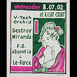 Leia Bell V-Tech Orchid Poster