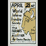 Leia Bell World Inferno Friendship Society Poster