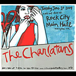 Leia Bell The Charlatans Poster
