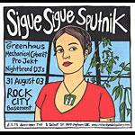 Leia Bell Sigue Sigue Sputnik Poster