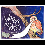 Leia Bell Woods Afire Poster