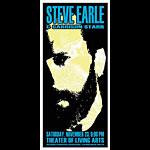 Scott Benge (FGX) Steve Earle Handbill
