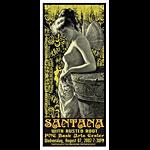 Scott Benge (FGX) Santana Handbill