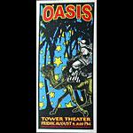 Scott Benge (FGX) Oasis Handbill