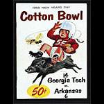 1955 Cotton Bowl Georgia Tech vs Arkansas College Football Program