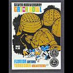 1970 Gator Bowl Florida vs Tennessee College Football Program